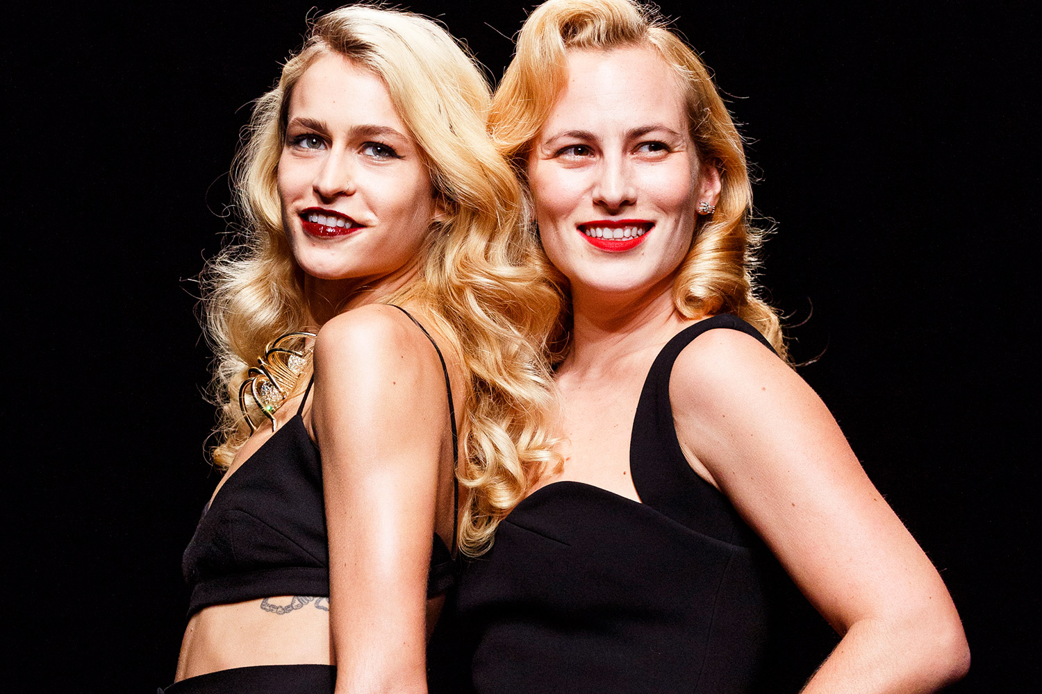 Charlotte Olympia curly hairstyles 2016