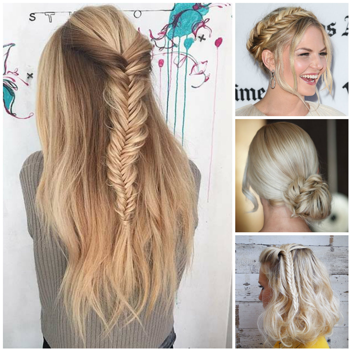 2016 hottest hairstyles with fishtail braids | 2017 haircuts