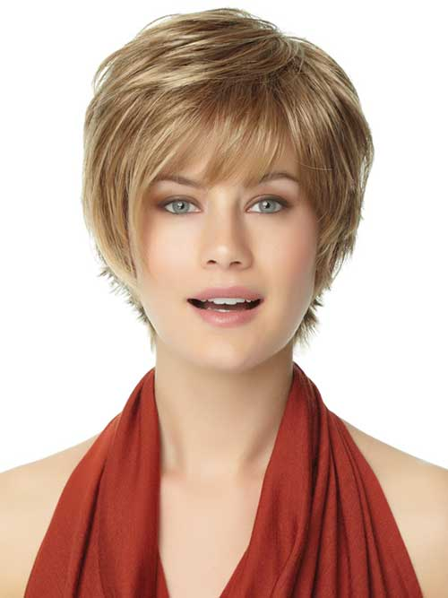 short haircuts with bangs for round faces the right hairstyles for your shape 2016 2019 2618 | short haircut with bangs for round face 2016