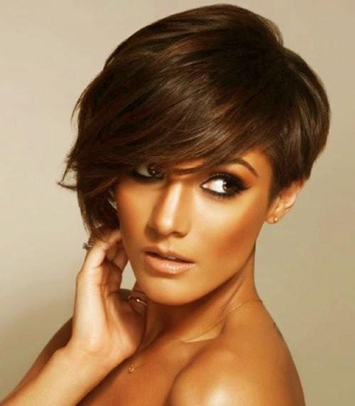 asymmetric bangs for short hair