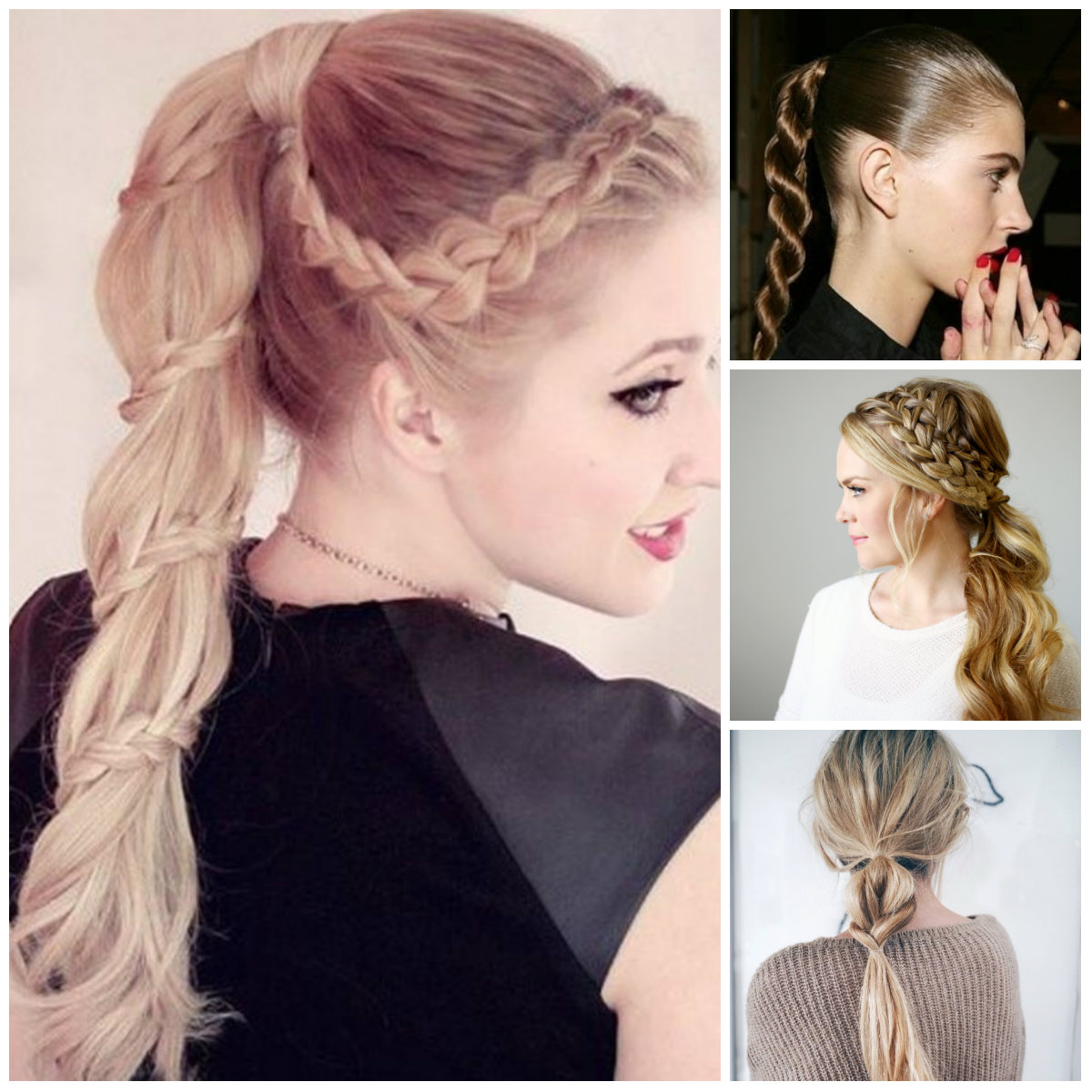 braided ponytail hairstyles for 2016 | 2017 haircuts, hairstyles