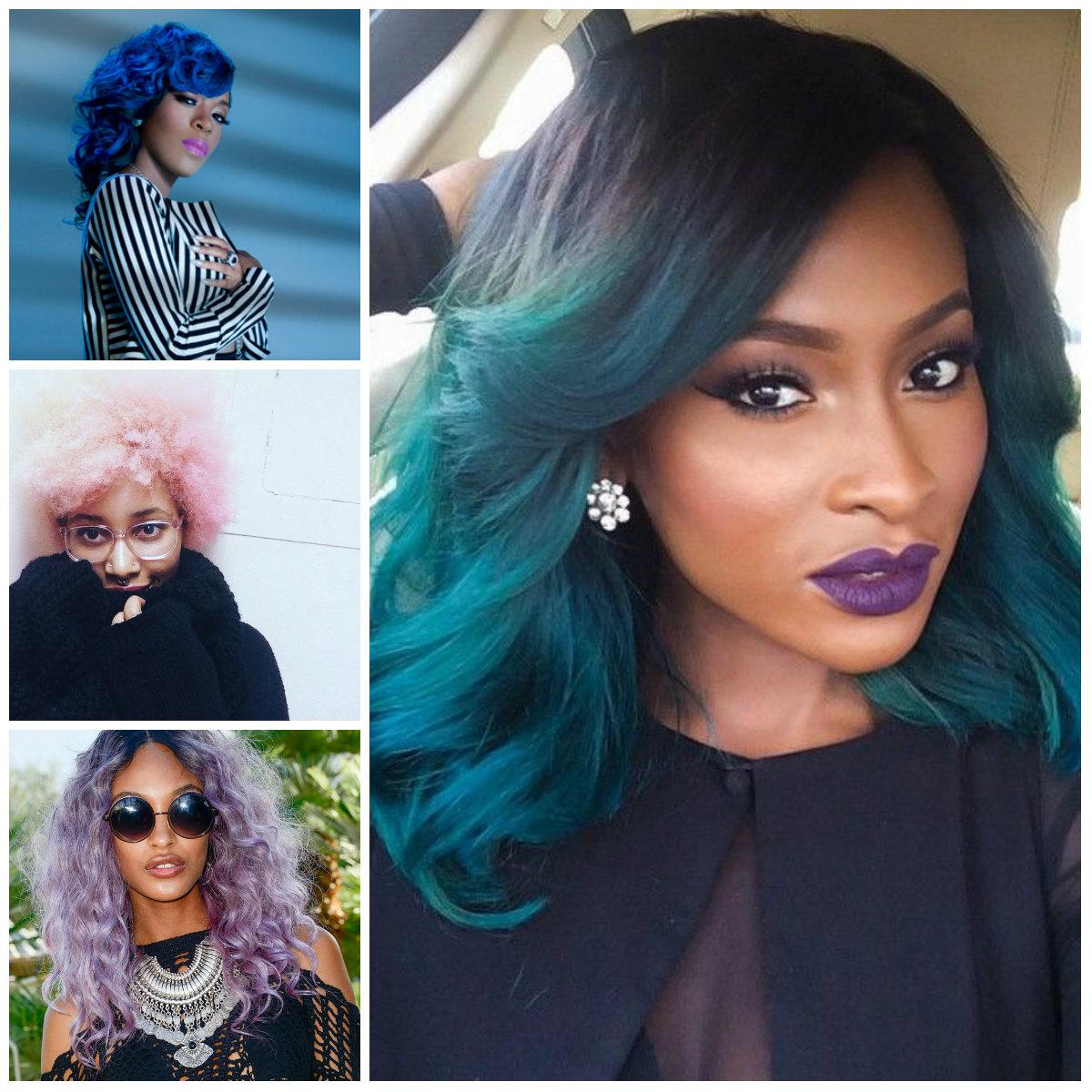 2016 bold hair shades for black women | 2019 haircuts