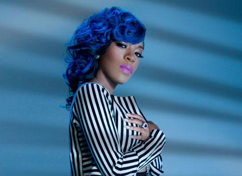 blue hair for black women 2016