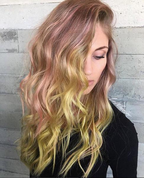 verrückt Multitone-Haar für Frauen 2016