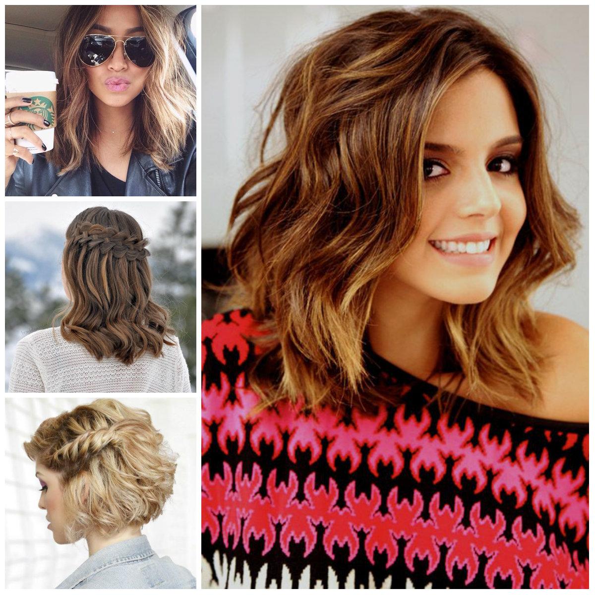 curly hairstyles for medium length hair   2017 haircuts