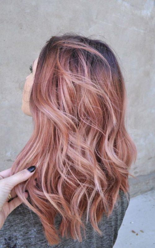 rose hair shade for 2017