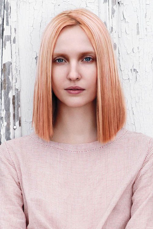 strawberry blonde and pink hair highlights 2017