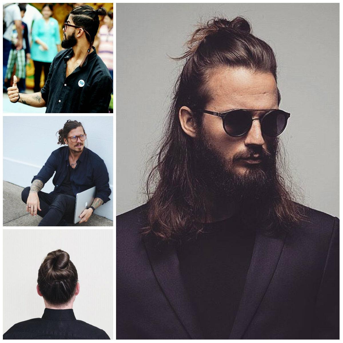 Gorgeous Men's Bun Hairstyle
