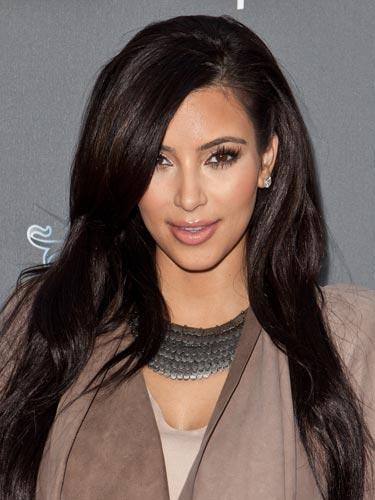 Kim Kardashian Inky Brown Hue 2022