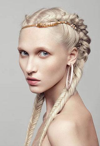 braided hairstyle 2017
