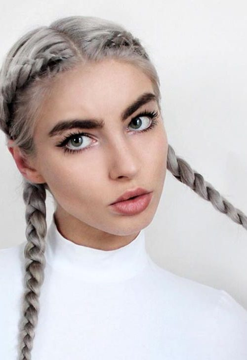 grey boxer braids for 2022