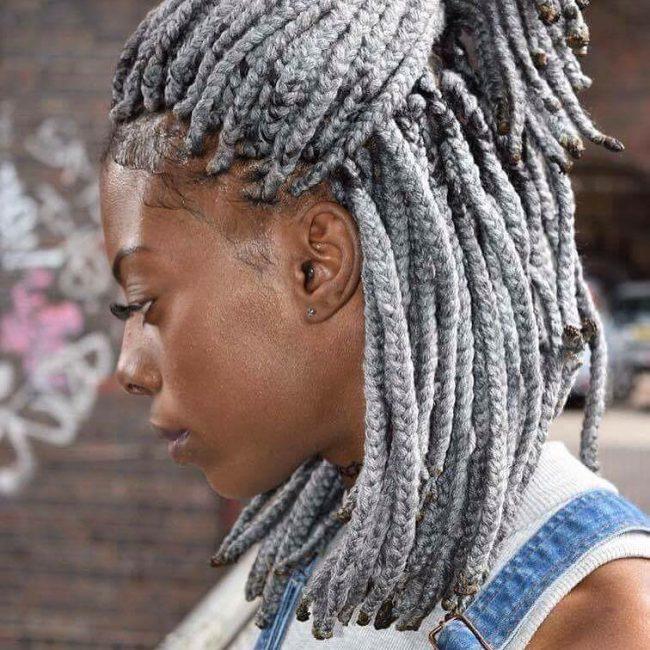 silver yarn twist for women 2022