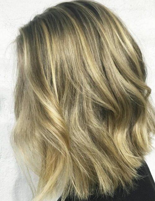 Glamour Medium Length Hair