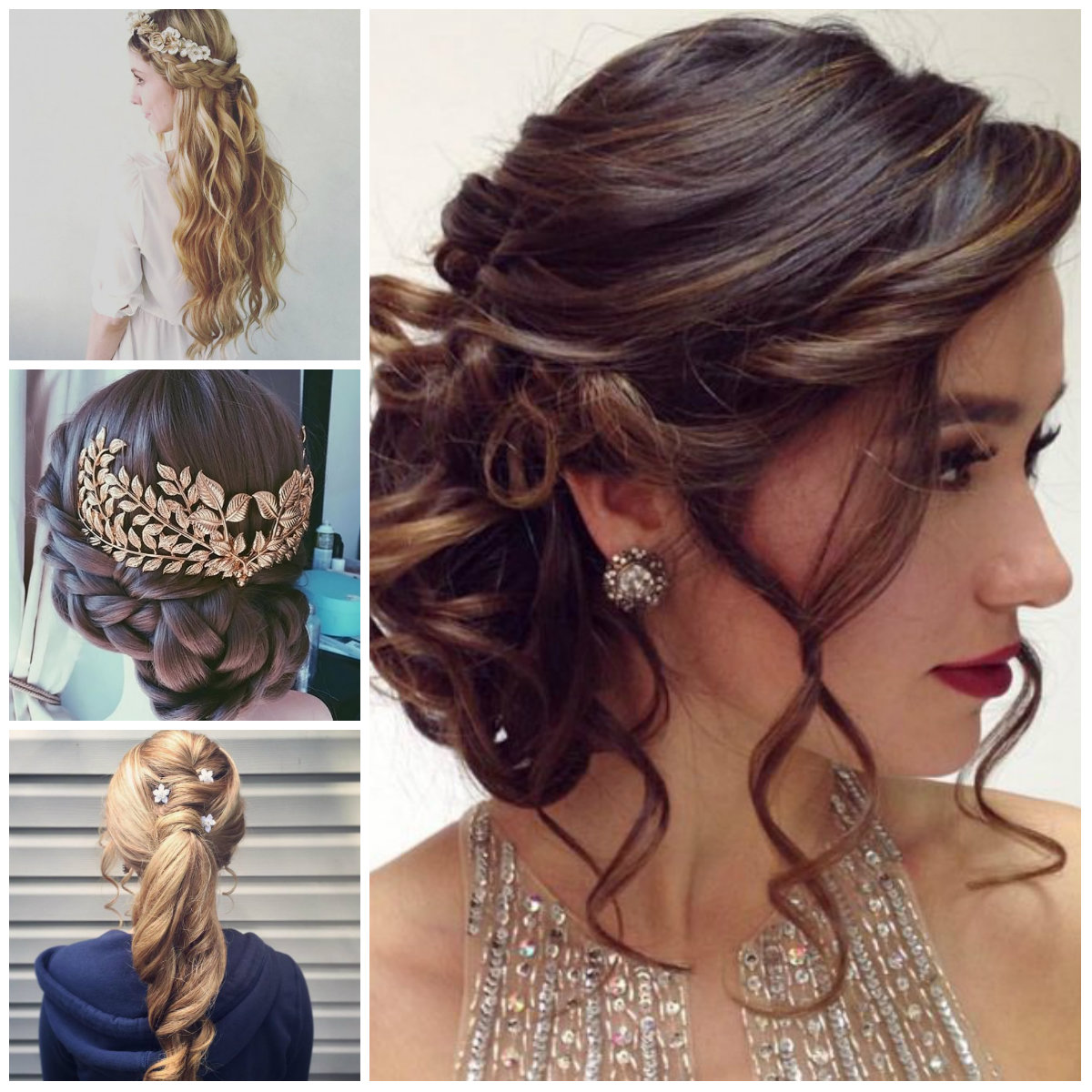 Formal Updo Hairstyles 2019 Haircuts Hairstyles And Hair Colors