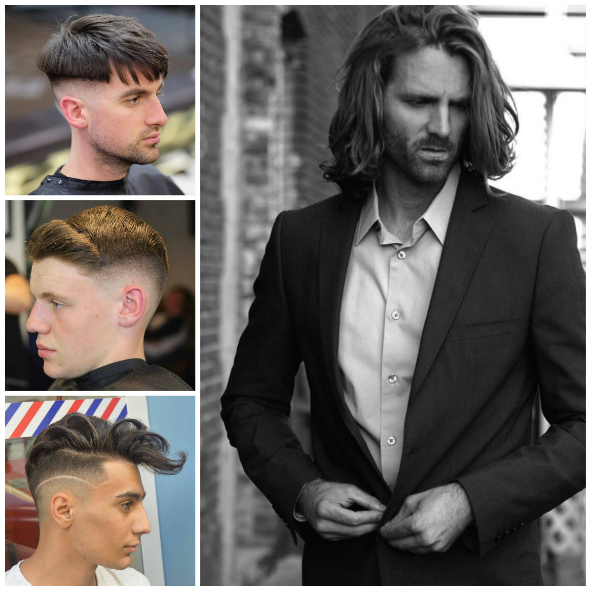 5 Upscale Hairstyles for Men 2017