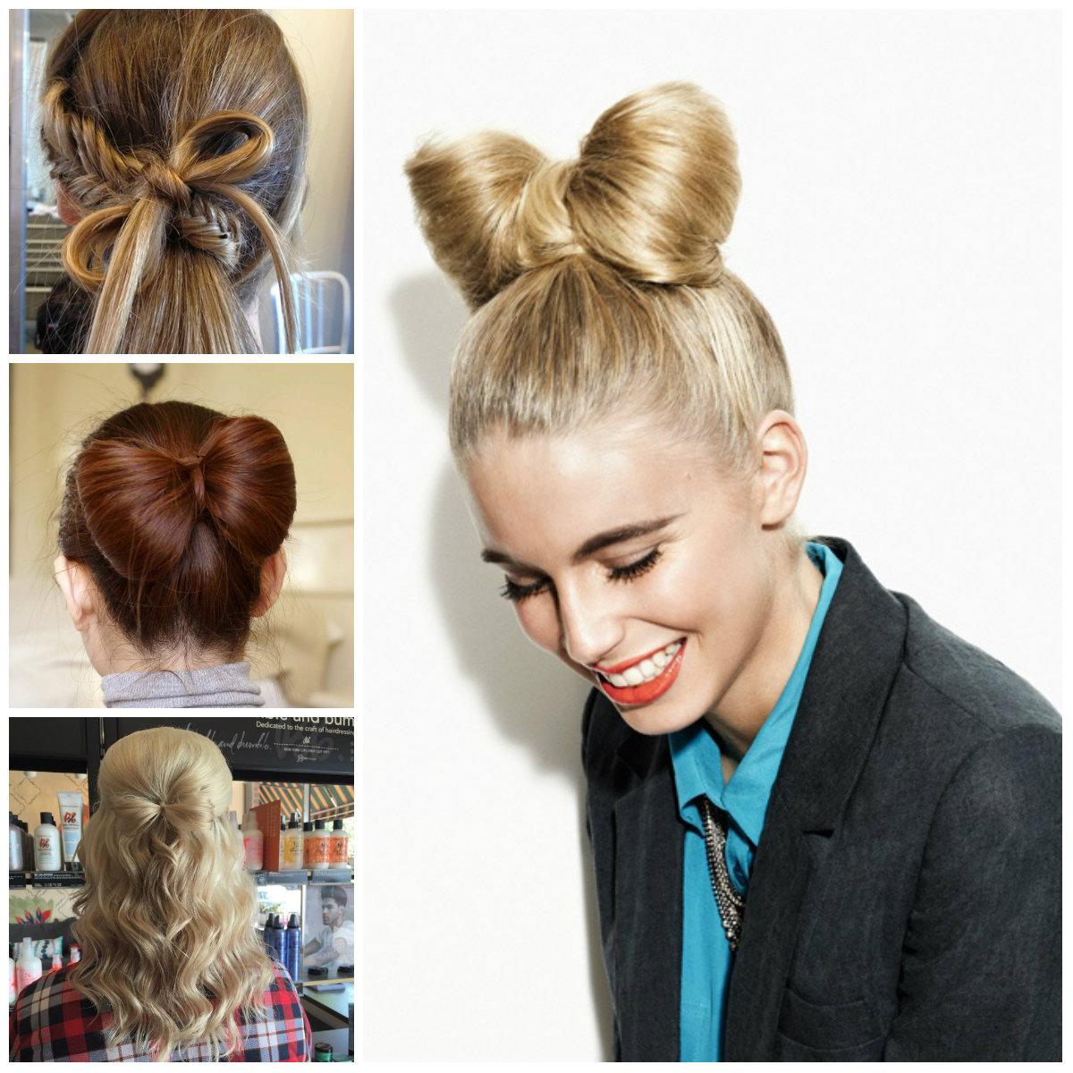 Cute Bow Hairstyle Ideas