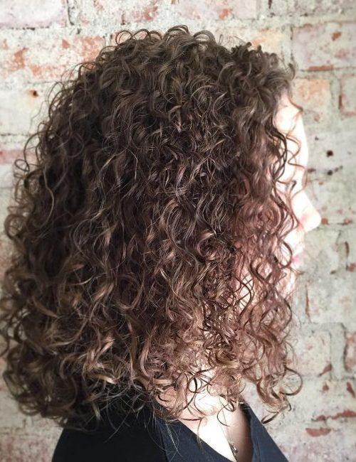 Cute Curly Bob