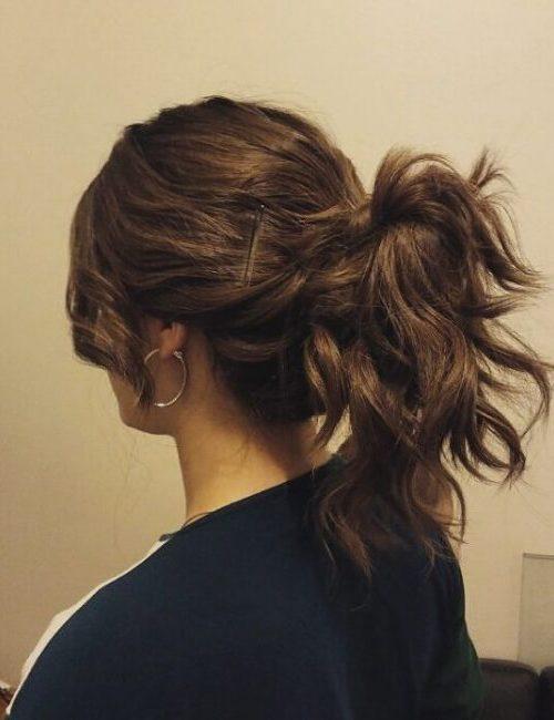 funky ponytail