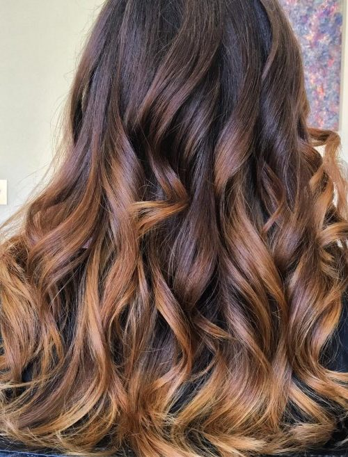 Gold and Chocolate Color Melt
