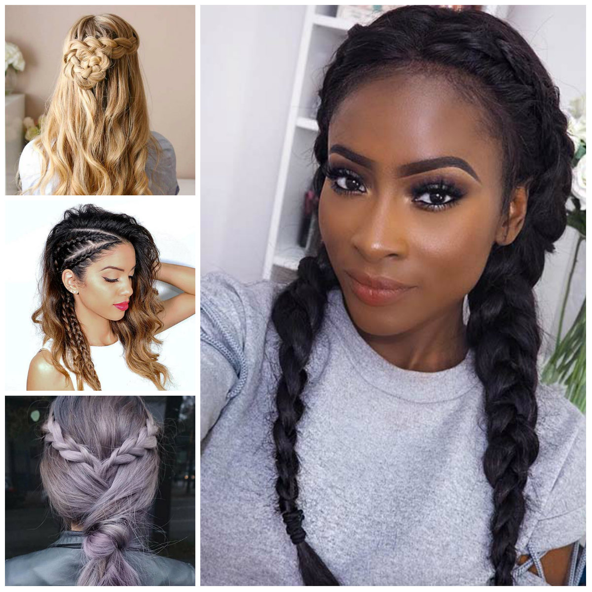 Gorgeous Braided Hairstyle for 2022
