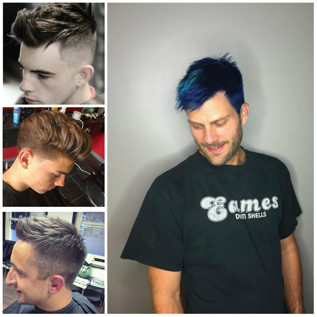 Gorgeous Spiked Up Hairstyles for Men