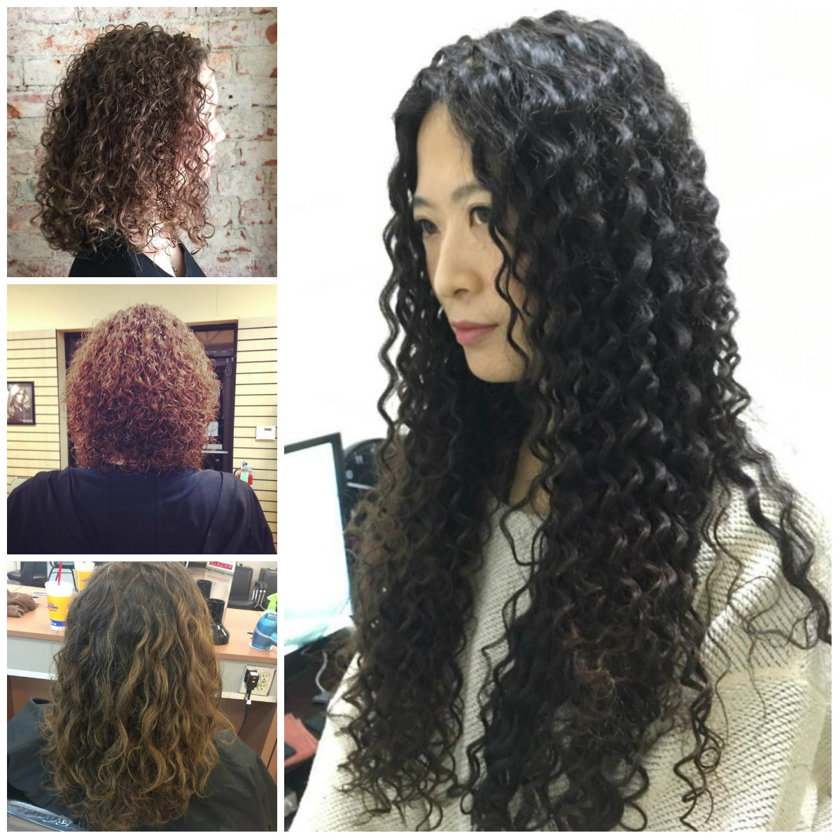 Spiral Perm Hairstyle Ideas for 2017
