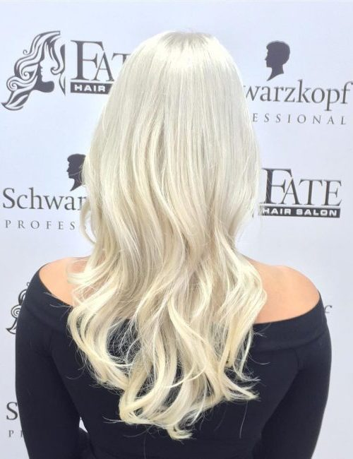 Creamy Blonde Strands