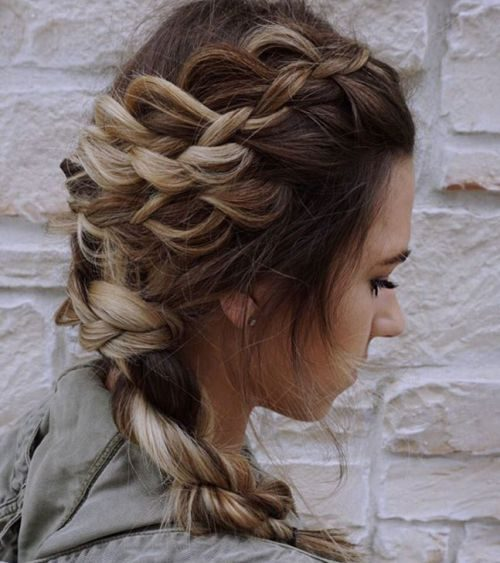 Casual Braided Style