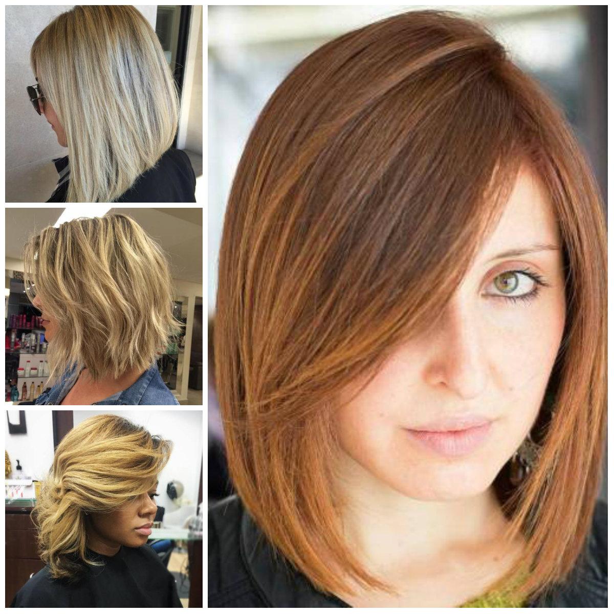 Medium Length Hair with Bangs