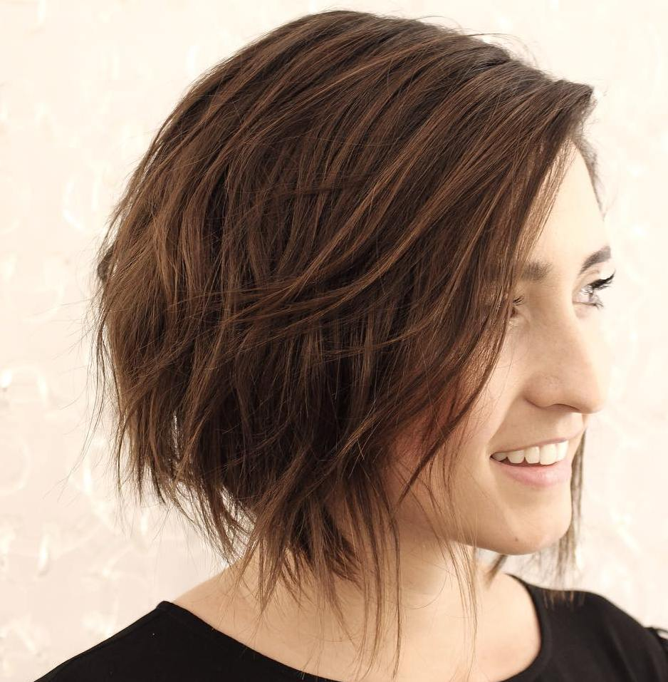 Messy Bob with Layers
