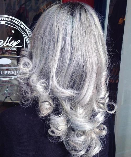 Silver Curls