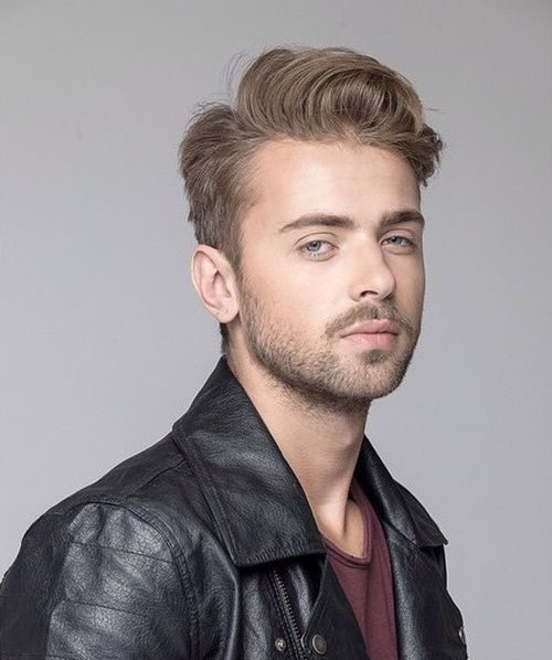 Tousled Comb Over Hairstyle for Men