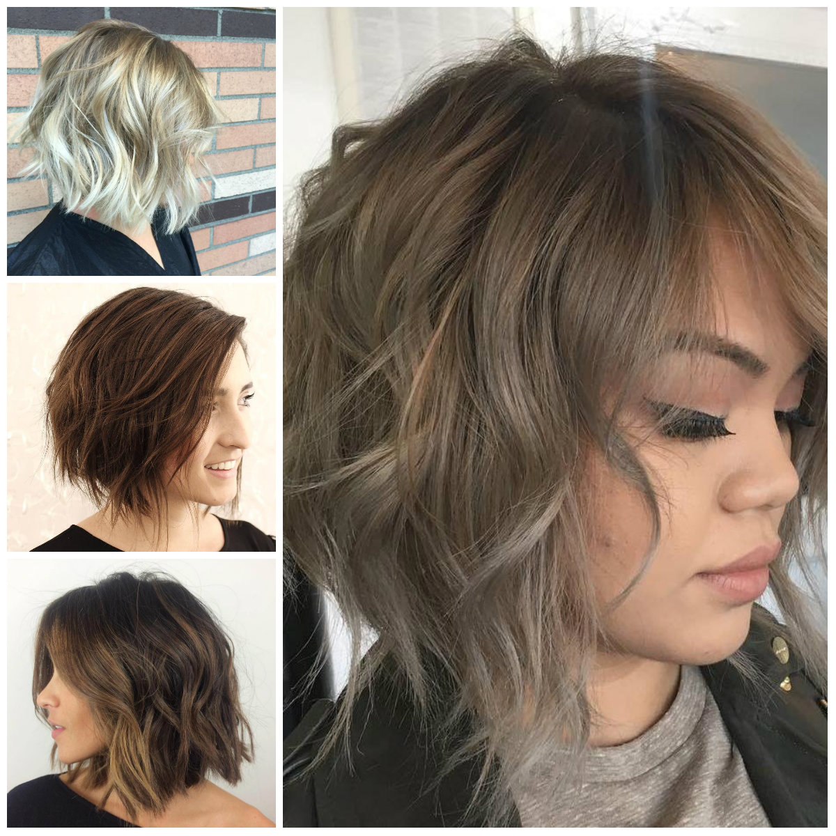Casual Short Messy Hairstyles For Females 2019 Haircuts Hairstyles And Hair Colors