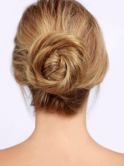 Simple Twisted Top Knot