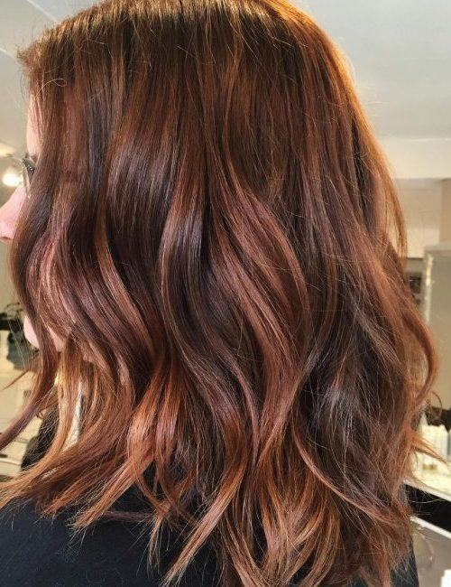 Delightful Copper Hair