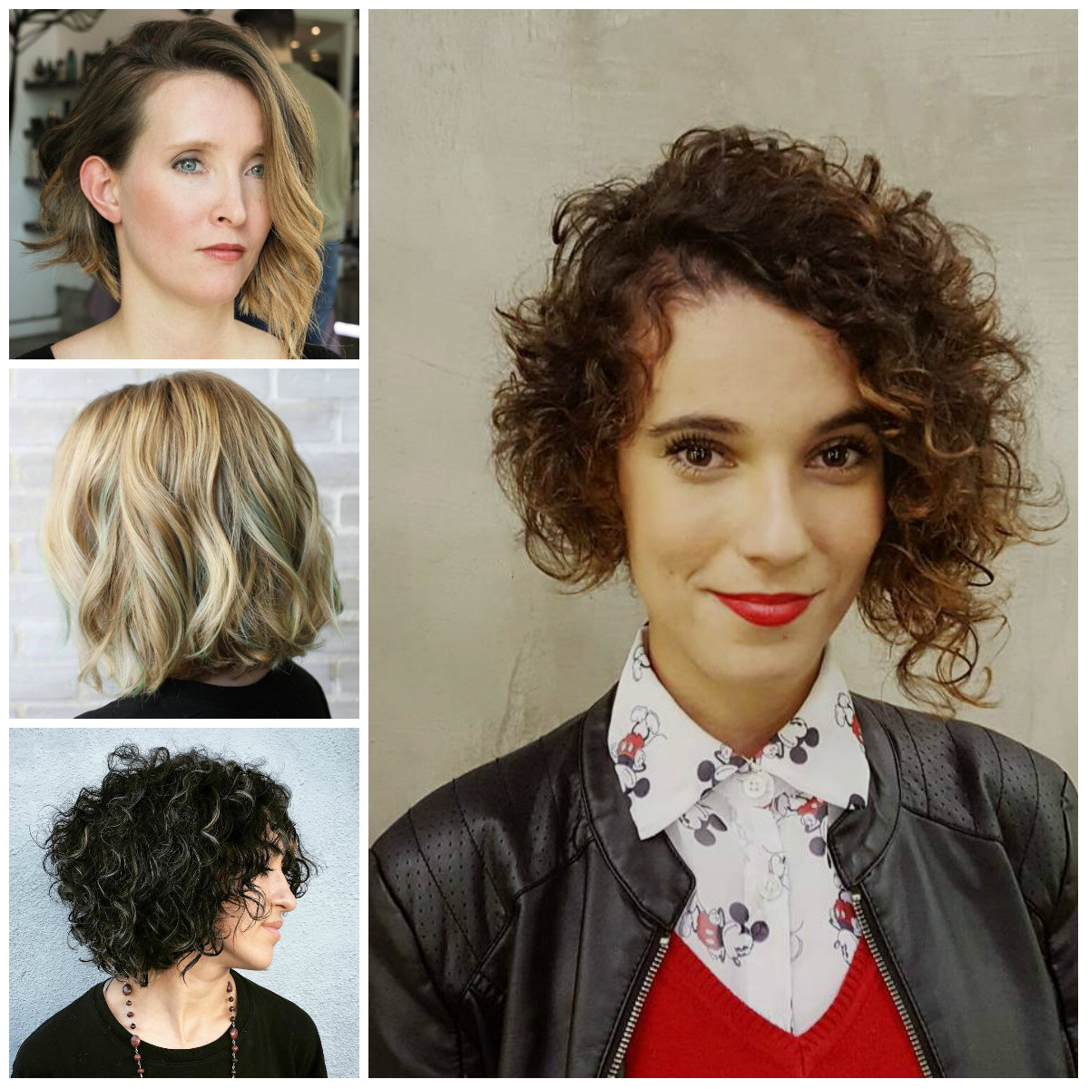 Short Wavy hairstyles for 2017