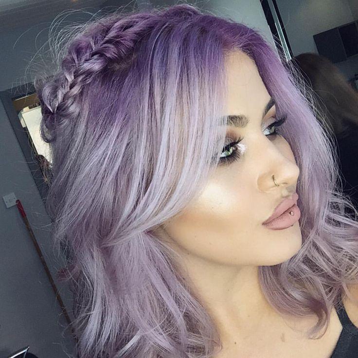 Lilac Halo Braid