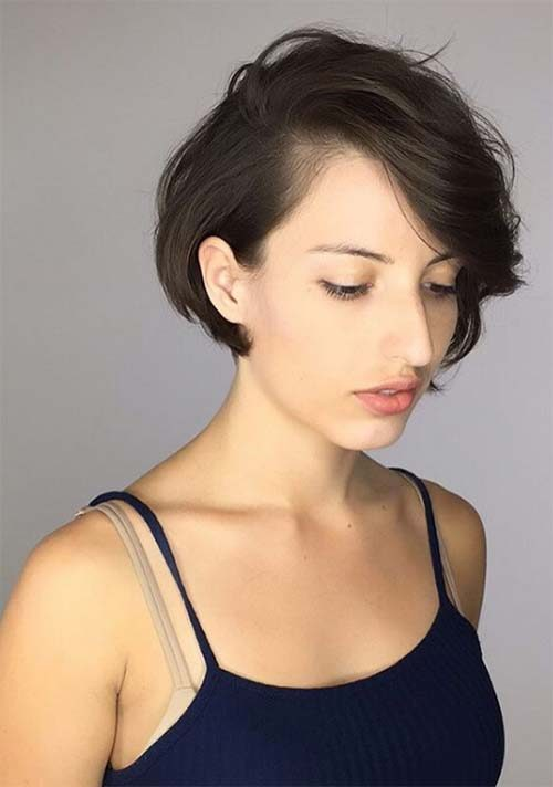 Long Pixie with Short Layers