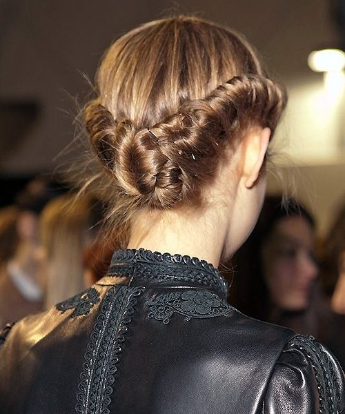 Low Braided Buns and Twists