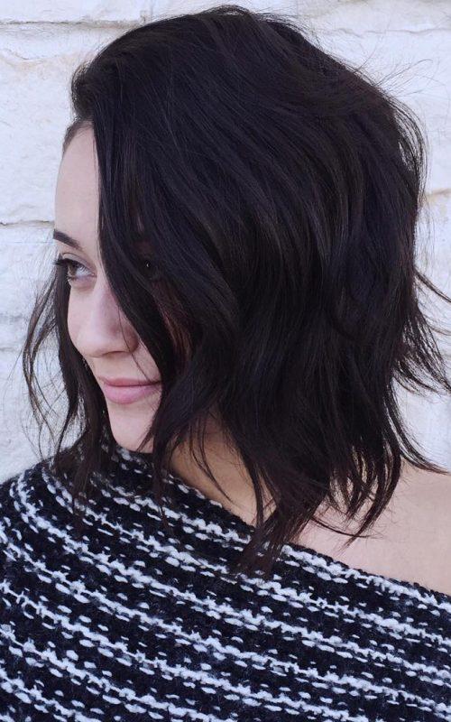 Medium Length Messy Hair
