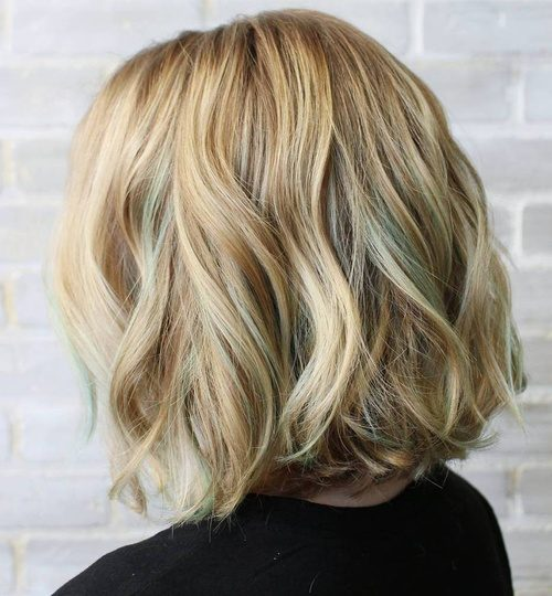 Short Hair with Highlights