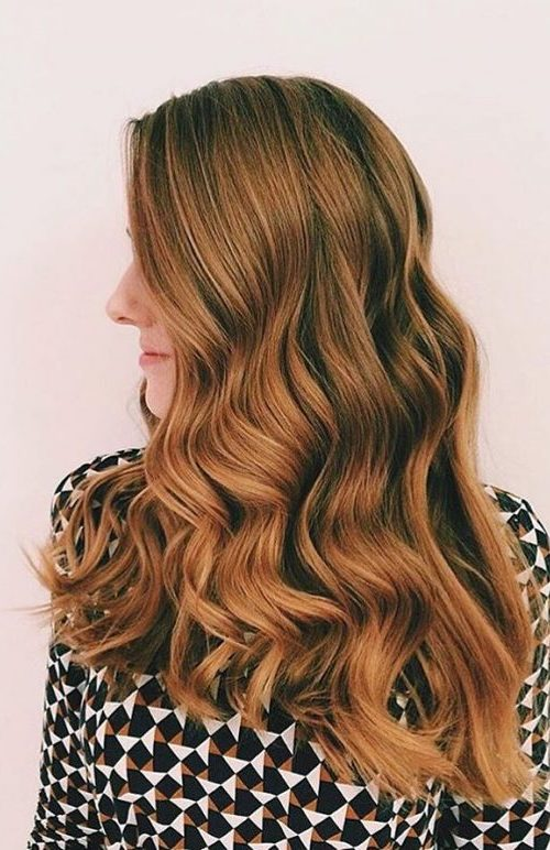 Strawberry Blonde Waves
