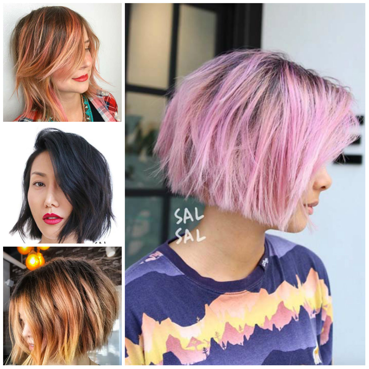 Short Layered Hairstyle Ideas