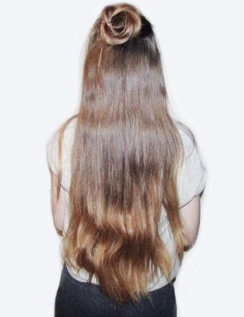 Braided Rose Bun Hairstyle