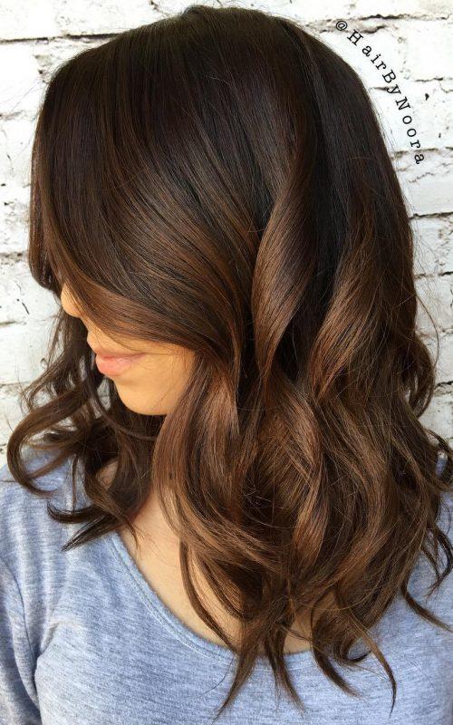 Chocolate and Cinnamon Brown Curls