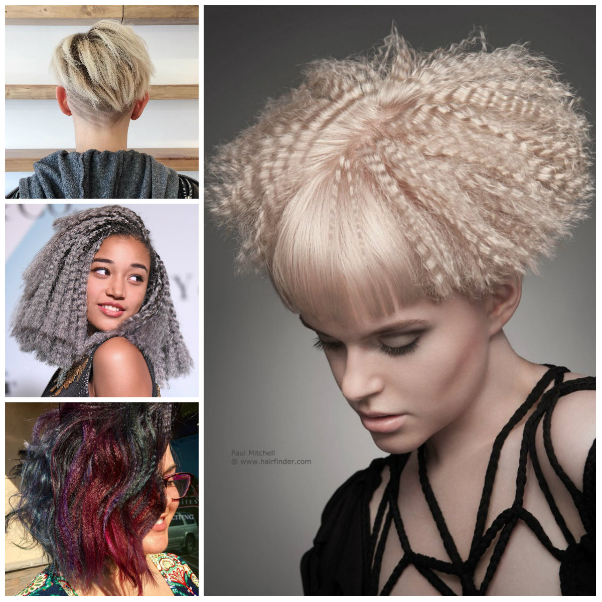Crimped Hairstyles For Short Hair For 2017