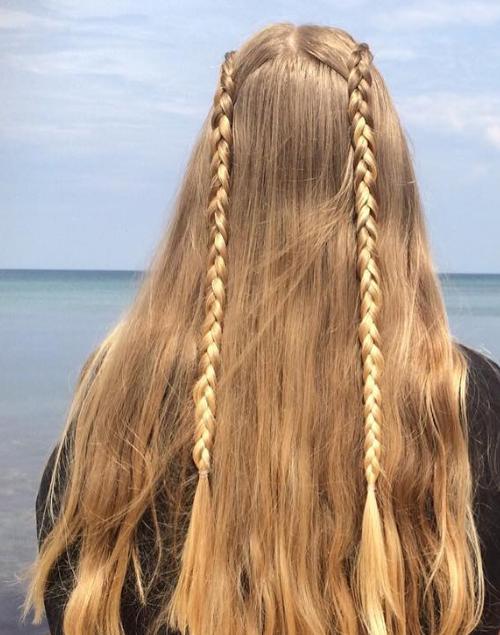 Double Lace Braids