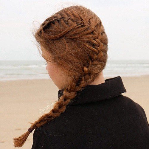 Side Braid for Teens