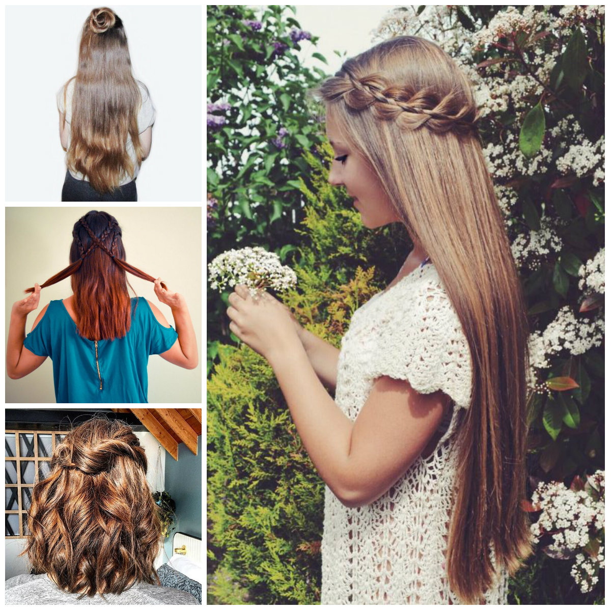 Casual Half Up Half Down Hairstyles For 2017