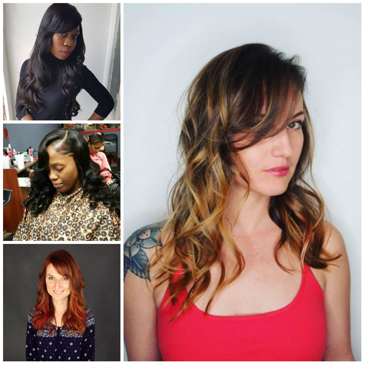 Side Swept Bangs Hairstyles for Long Hair for 2017